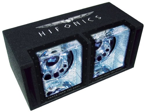 Hifonics BX-12 Dual Doppelbandpass-Subwoofer 2 x 30 cm