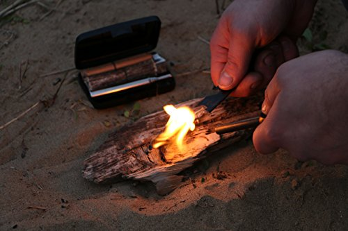 Polymath Products Spitfire Plus – Pocket Fire Lighting Kit. The quick and easy way to start fires in all weather…