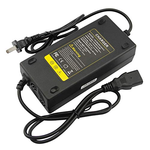 48V Battery Charger for Electric Bicycle Motor Bike - 3 Holes Plug AC Adapter