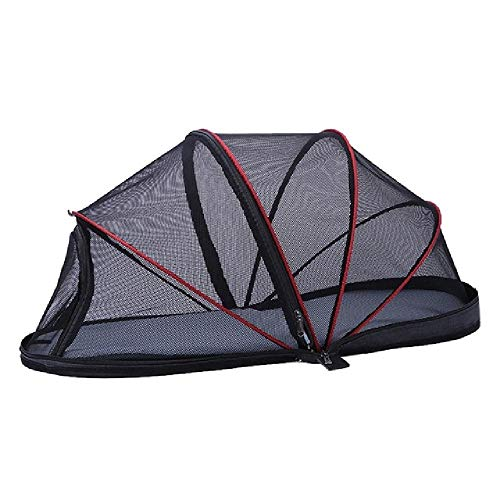 U/A Portable Folded Cat Net Tent Dog House Cage Tent For Small Dogs For Cats Outdoor Kennel Pet Puppy Anti-Mosquito Net Tents