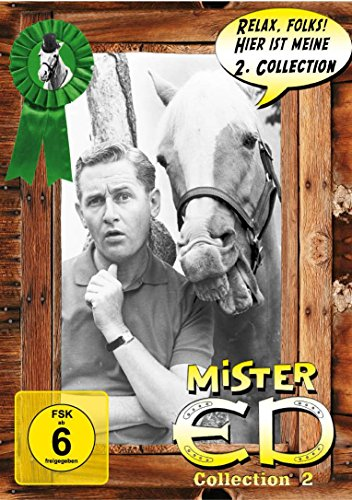 Mr. ED Collection 2: Das sprechende Pferd [Digipack mit 3 DVDs]
