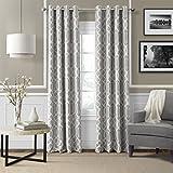 "Elrene Home Fashions 026865853698 Blackout Room Darkening Grommet Window Curtain Drape Panel, 52"""