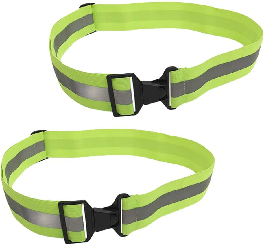 BESPORTBLE 2PCS Safety All items in the store Reflective Visibili High Adjustable Belts online shop