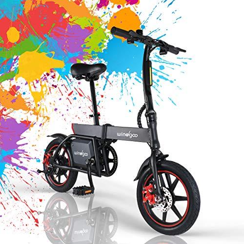 Mangoo Bicicleta Electrica Plegable Urbana 350W 36V 25km/h