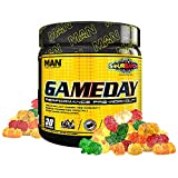 Man Sports Game Day. Sour Batch Flavored Pre Workout Energy Drink Mix with Natural Caffeine. (30 Servings)