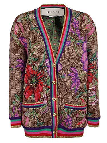 Luxury Fashion | Gucci Dames 606080XKA7F2006 Beige Wol Vesten | Lente-zomer 20