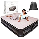 Sleepah Air Mattress with Built in Pump - Queen Inflatable Bed –Premium Elevated Blow Up Air Bed...