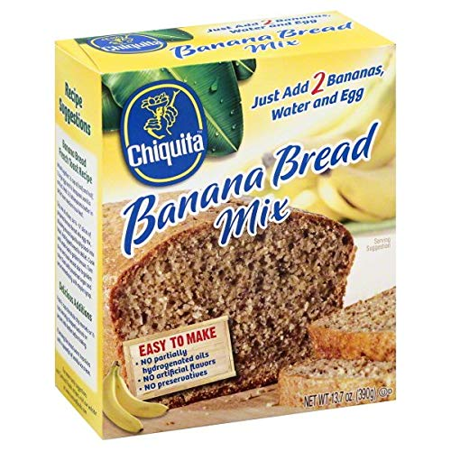 Chiquita Banana Bread Mix ~ 2 Boxes 13.7 oz each by Concord Foods