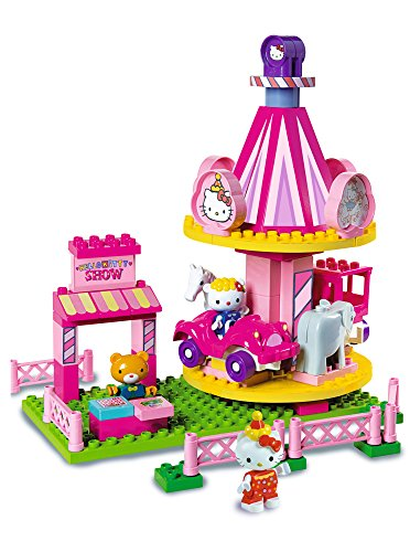 BIG 800057060 - PlayBIG Bloxx Hello Kitty Funpark Karusell