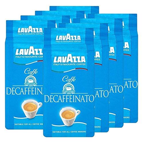 Lavazza DEK Kaffee, Decaffeinato, gemahlener Bohnenkaffee (8 x 250g)