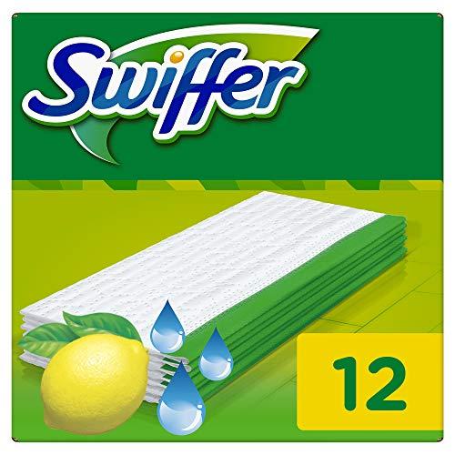 Swiffer Feuchte Bodenreinigungstücher Citrusfrische, Nachfüllpack, 12Stück