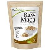 Maca Orgánica en Polvo - Calidad Premium, Altamente Nutritiva, 100% Pura (Bolsas de 300g, 500g)
