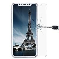 KANEED 強化ガラスフィルム 高透過率 アンチグレア iPhone X用0.26mm 9H表面硬度防爆型非フルスクリーン強化ガラススクリーンフィルム用