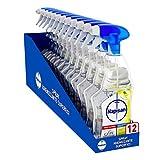 Napisan Spray Igienizzante Superfici Limone e Menta, Confezione da 12