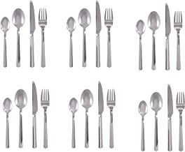 Winsor 24-Piece Stainless Steel Cutlery Set with Stand WR7000-24
