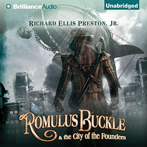 Couverture de Romulus Buckle & the City of the Founders
