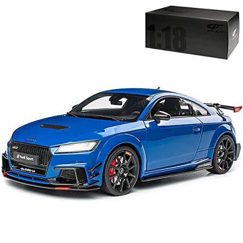 GT Spirit A-U-D-I TT RS 8S Coupe Blau Performance Parts Ab 2014 Nr 269 1/18 Modell Auto