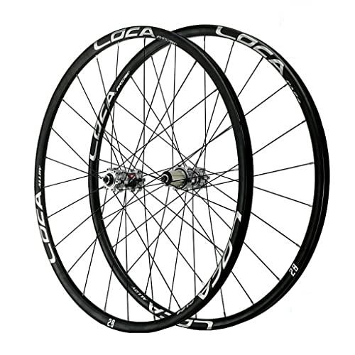 VPPV Ruedas de Bicicleta de Montaña 29 Pulgadas Pared Doble Aleación Aluminio Ruedas de Carretera de 26 Pulgadas Rodamiento Sellado Llanta MTB para 7/8/9/10/11 Velocidad (Size : 27.5 er)