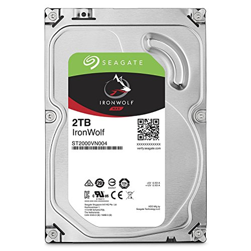 """Seagate Disque Dur Technology Technology Technology 3.5"""" Ironwolf 2To 5900T-NAS (ST2000VN004) *2691"""