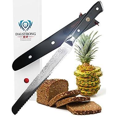 DALSTRONG Bread Knife - Shogun Series - AUS-10V - 10.25  (260mm)