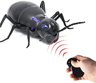 Mouchao Infrared IR RC Cockroach Luminous Prank Toy Joke Scary Trick Bugs for Party Streetwear Trainingsanzüge