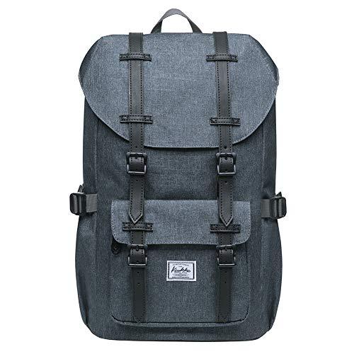 KAUKKO Rucksack Studenten 15 Zoll Backpack für 13