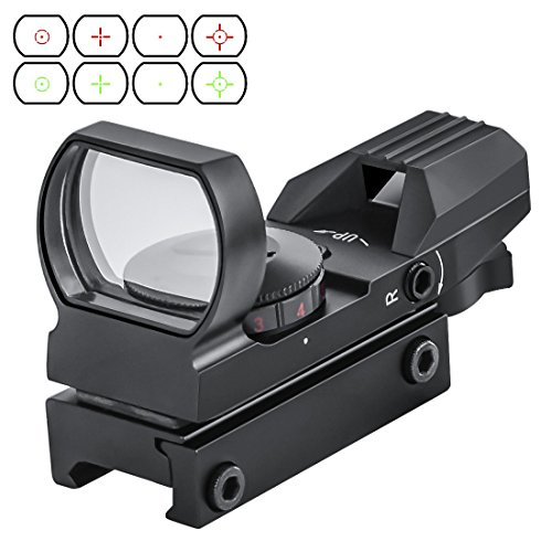 OTW Electro DOT Sight Field Sport Red and Green Reflex Sight with 4 Reticles