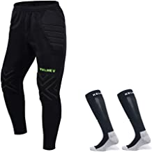 Goalkeeper Pants Pro Bundle with Protection Pads – Set Includes Pants and Socks - Kids and Adult Sizes