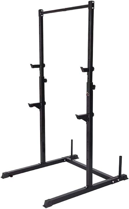 Gabbia per squat per rinforzare le cosce, colore: nero pull up fitness B07D6D69G8