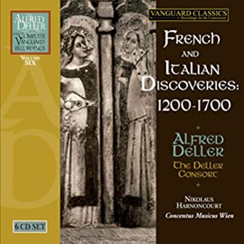 Alfred Deller: French & Italian Discoveries
