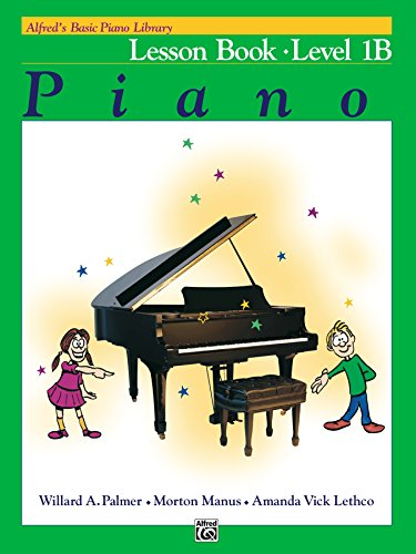 Alfred's Basic Piano Library - Lesson 1B: Learn How to Play Piano with This...
