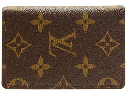 (ルイヴィトン) LOUIS VUITTON カードケース 名刺入れ ポケット・オーガナイザー モノグラムキャンバス クロスグレインレザー m60502 ブランド [並行輸入品]