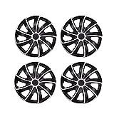 VOSAREA 4 pz 14 Pollici Copri Ruota Car Wheel Caps Case coprimozzo per mozzo Auto Tappo Au...
