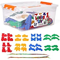 PlayKidz Lacing Kit with Different Shapes And Designs