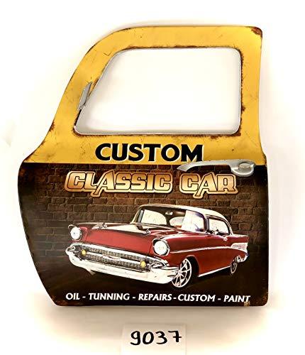 DiiliHiiri schild retro vintage deur schild metaal ambachtelijke accessoires huis decoratie - Classic Car