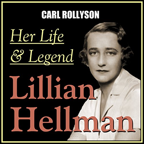 Lillian Hellman audiobook cover art