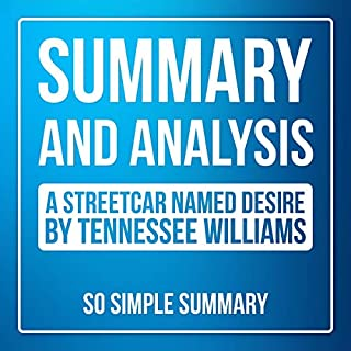 Summary and Detailed Analysis: A Streetcar Named Desire by Tennessee Williams audiobook cover art