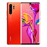 Huawei P30 Pro Dual/Hybrid-SIM 128GB VOG-L29 (GSM Only, No CDMA) Factory Unlocked 4G/LTE Smartphone - International Version (Amber Sunrise)