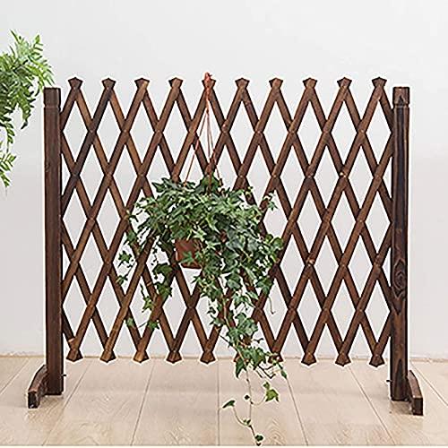Rasenkanten Palisade Pflanze Bordüre Pet Dog Sicherheitszaun, freistehender Zaun Erweiterbarer Klappzaun, Pflanzenschutz-Schutzschild für den Garten QAF210509
