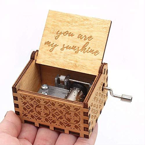 The Music Box Baby Girl Spieluhr Roxy Bestes Geschenk für Holzbastelfreunde Familie Musikspielzeug