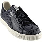 PUMA Select Men's Clyde Snake Sneakers, Puma Black, 11 D(M) US