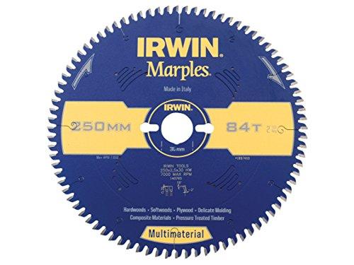 Irwin - Disco sierra circular 250mm/84t multiuso