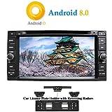 XISEDO Android 8.0 Autoradio 2 Din In-Dash 7' Car Radio 8-Core RAM 4G ROM 32G Autonavigation Car Radio für Toyota RAV4/ Corolla/Vitz/ Echo/Corolla EX/Vios/Camry/Hilux/Terios/Prado