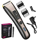 Cordless Hair Cutting Clippers and Beard Trimmer, Barber Hair Cutting Kit, Professional Hair