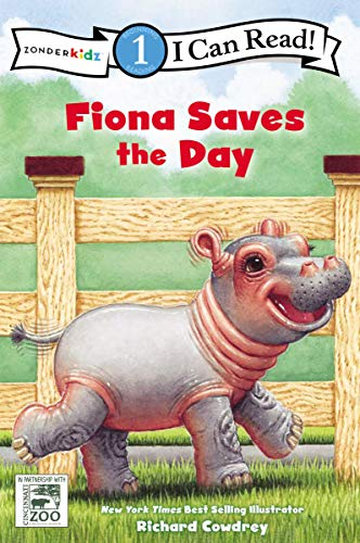 Fiona Saves the Day: Level 1 (I Can Read! / A Fiona the Hippo Book)