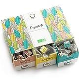 ☘️ TE ORGANICO - Caja té Orgánico | Surtido de té premium, 6 sabores diferentes | Caja Regalo | 48 bolsitas...