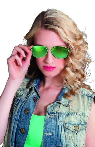 Boland 2577 - Partybrille Mirror, grün