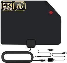 zzpopGG TV Antenna,Full HD 4K 1080P Indoor Digital TV HDTV Antenna Aerial Signal Booster Amplifier - 1