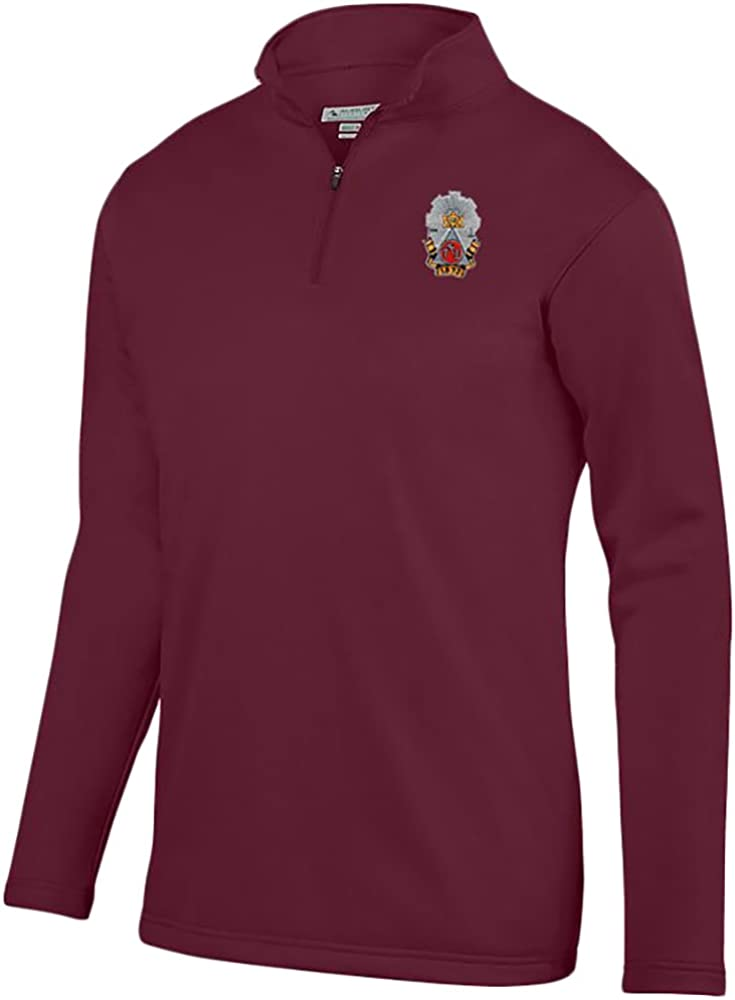 Phi Sigma Kappa World Famous Crest Wicking Fleece Pullover