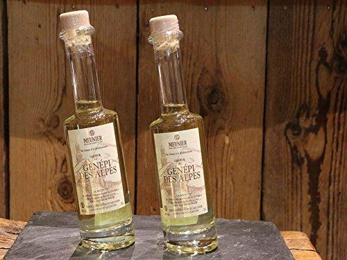 Charles Meunier Genepy Likör - Kräuter-Likör aus den Französische Alpen Genepi - Alkohol-Gehalt 40 Vol.-{d98b1776a3e6e9a12394cb2833347e10b5fcff0fb6742fb689cc64301c450612} - 0.2l